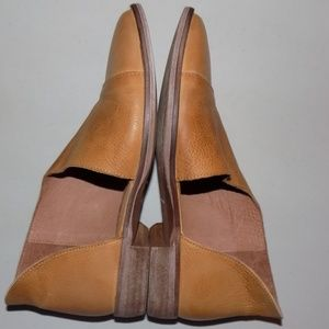 Free People Flat Royale Canary leather EU 36